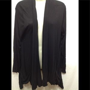Women's size XL RAGS & COUTURE burnout cardigan